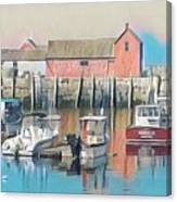 Rockport, Massachusetts Canvas Print