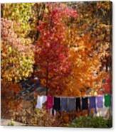 New England Color In October  Canvas Print