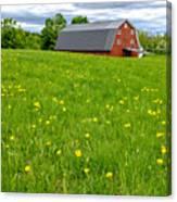New England Landscape Canvas Print