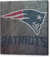 New England Patriots Translucent Steel Canvas Print