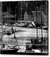 New England Seaside Canvas Print