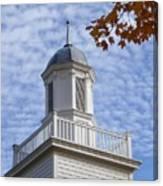 New England Steeple - Ridgefield, Connecticut Canvas Print