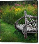 New England Summer Rustic Canvas Print