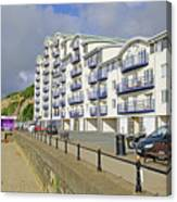 New Flats Overlooking Sandown Esplanade Canvas Print