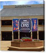 New Grand Ole Opry House Canvas Print