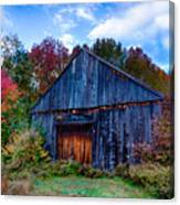 New Hampshire Barn Eaton Nh Canvas Print