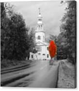 New Hampshire Church Canvas Print