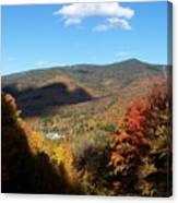 New Hampshire In The Fall 3 Canvas Print