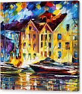 New Harbor Canvas Print
