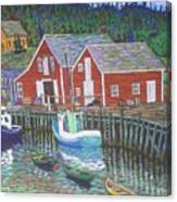 New Harbour  N.s. Canvas Print