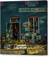 New Hope General Store Canvas Print