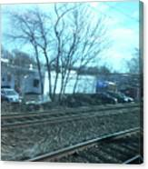 New Jersey From The Train 4 Canvas Print