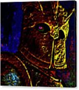 New Knight Of The King's Guard. Mask. Canvas Print