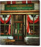New Market General Store Canvas Print