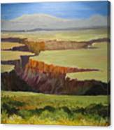 New Mexico Canyon Canvas Print
