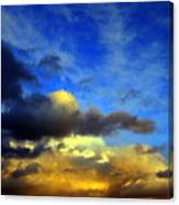 New Mexico Clouds Canvas Print