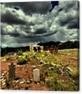 New Mexico Graveyard Canvas Print