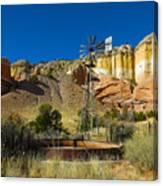 New Mexico Ranch Canvas Print