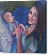 New Momma Canvas Print