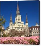 Jackson Square New Orleans Canvas Print