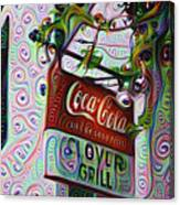 New Orleans - Clover Grill Canvas Print