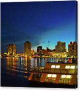 New Orleans Downtown Skyline Canvas Print
