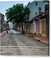 New Orleans French Quarter Special Morning Canvas Print