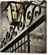 New Orleans Gaslight Canvas Print