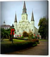 New Orleans Holiday Canvas Print