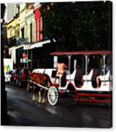 New Orleans Horse Carriage Canvas Print