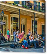 New Orleans Jazz 2 Canvas Print