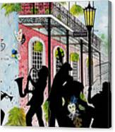New Orleans Magic Canvas Print