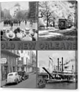 New Orleans Nostalgia Canvas Print