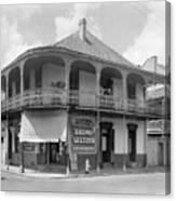 New Orleans Pharmacy Canvas Print