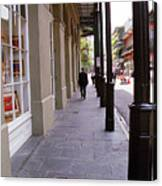 New Orleans Sidewalk 2004 Canvas Print