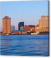 New Orleans Skyline From Algiers Point Canvas Print