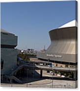 New Orleans Sports And Entertainment Complex Canvas Print