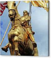 New Orleans Statues 13 Canvas Print