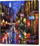 New Orleans Storm Canvas Print