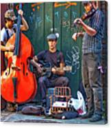 New Orleans Street Musicians Canvas Print