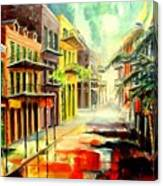 New Orleans Summer Rain Canvas Print