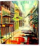 New Orleans Summer Rain Canvas Print