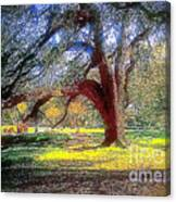 New Orleans Sunday In The Park With George Canvas Print