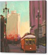 New Orleans Trolley Canvas Print