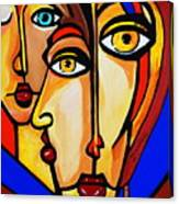 New Picasso By Nora Friends Canvas Print