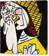 New Picasso The Weeper 2 Canvas Print