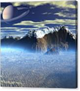 New Planet Saturn 1 Canvas Print