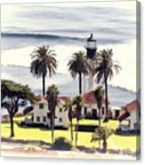New Point Loma Lighthouse Canvas Print