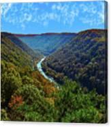 New River Gorge - Autumn Canvas Print