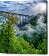 New River Gorge Bridge Morning  Canvas Print